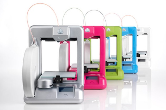 "Cubify ""The Cube"" 3D Printer"