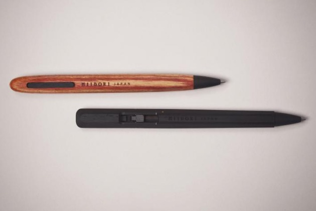 miidori wooden pens are made in japan