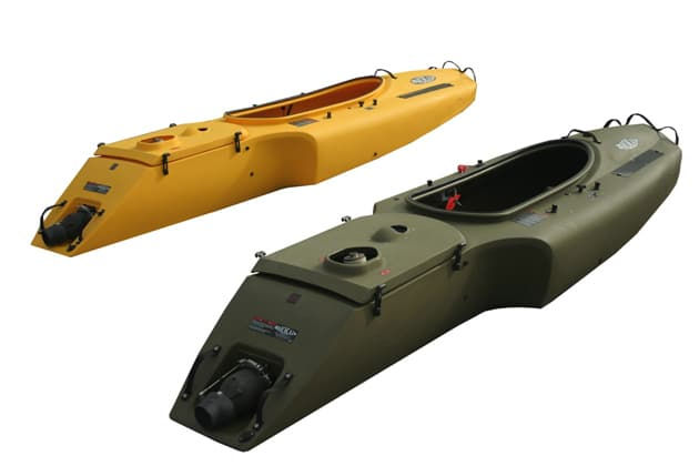 mokai jet powered kayak is a jet propelled boat