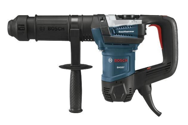 bosch dh507 sds max demolition hammer side