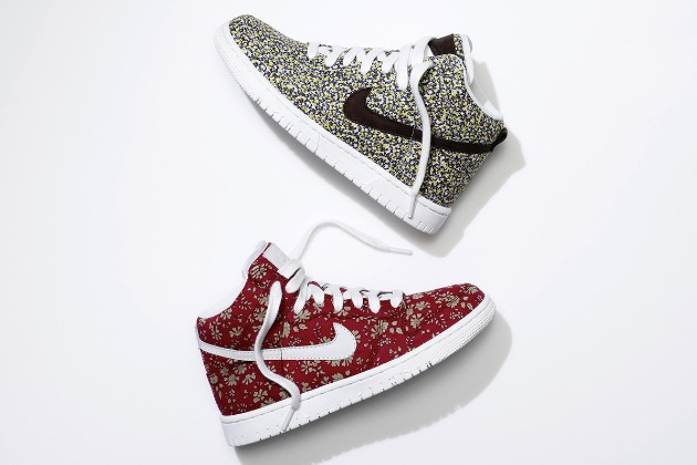 classic nike high top sneaker feature