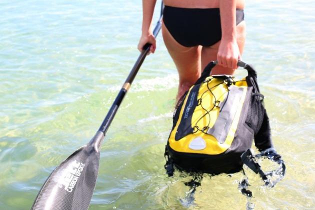 overboard waterproof backpack carry
