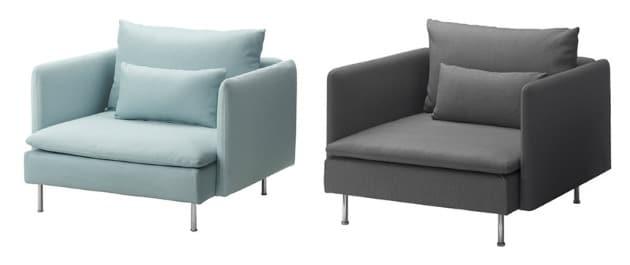 soderhamn armchair by ikea