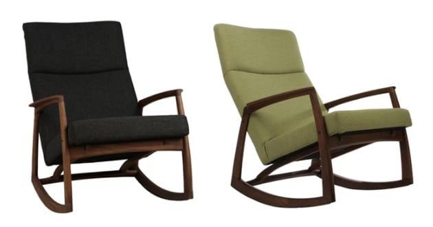 edvard danish design rocking chair by matt blatt