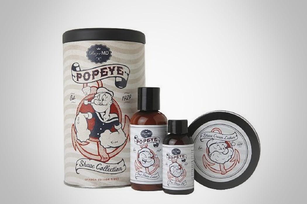 popeye shave kit