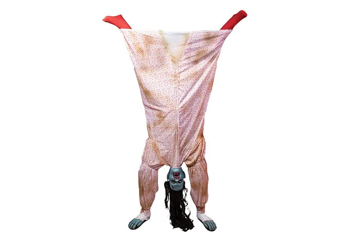 Upside Down Crazy Woman Costume