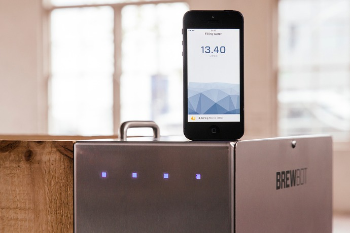 brewbot and smart phone
