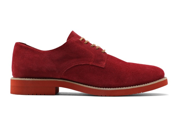 frank and oak rose color shoe