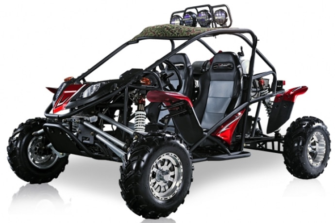 cherry bomb road buggy with water cooling engine