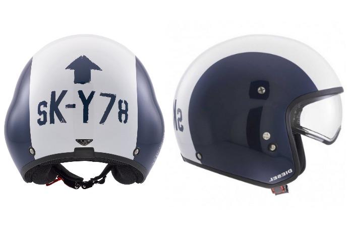 agv diesel hi jack motorcycle helmet full view