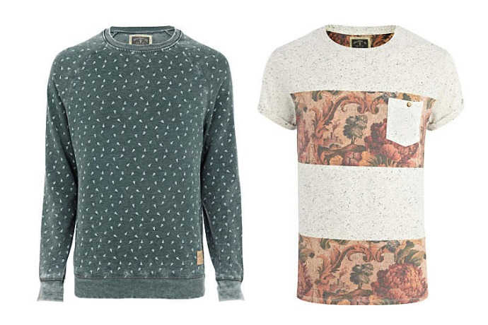 river island road collection t- shirt