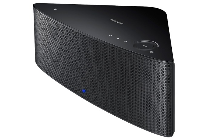 samsung shape wireless multiroom speaker front and top