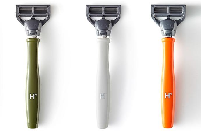different colour of razor