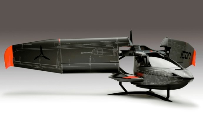 icon a5 systems layout model helicopter