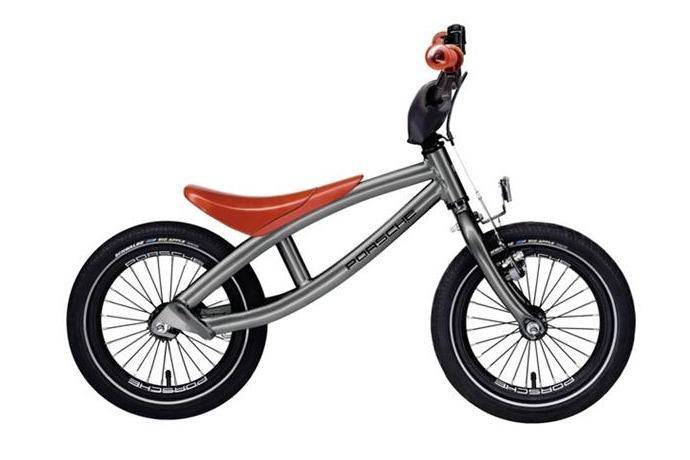 porsche kid bike side