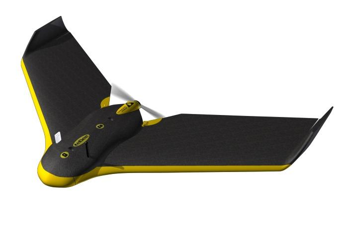 sensefly ebee drone front