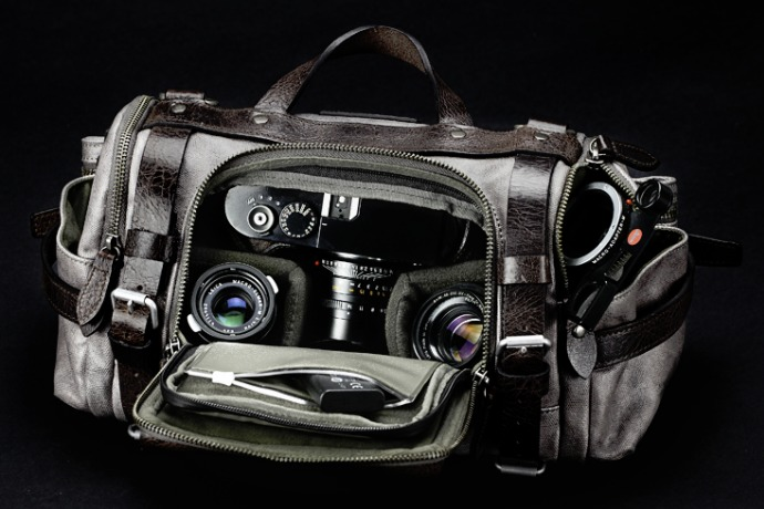 paratrooper camera all gear in the bag