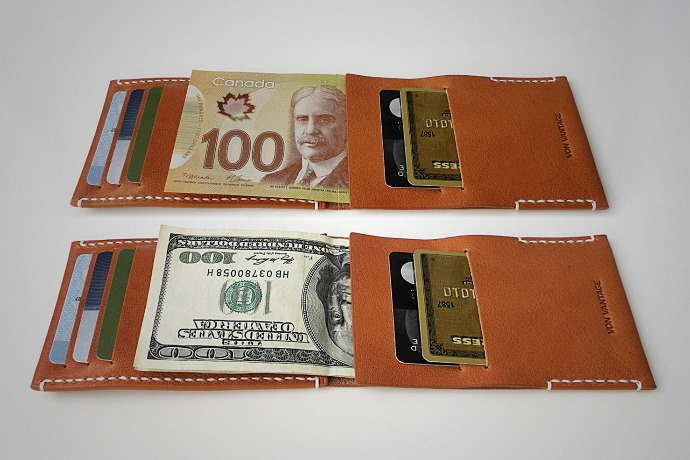 arkan minimalist leather wallet