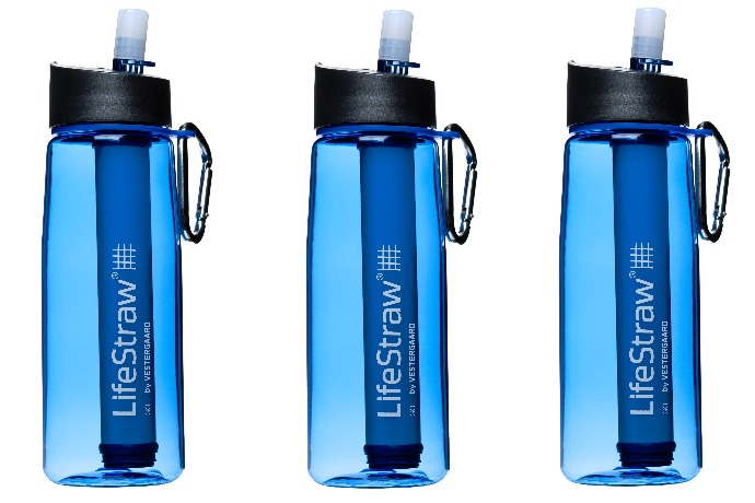 lifestraw go portable water bottle view