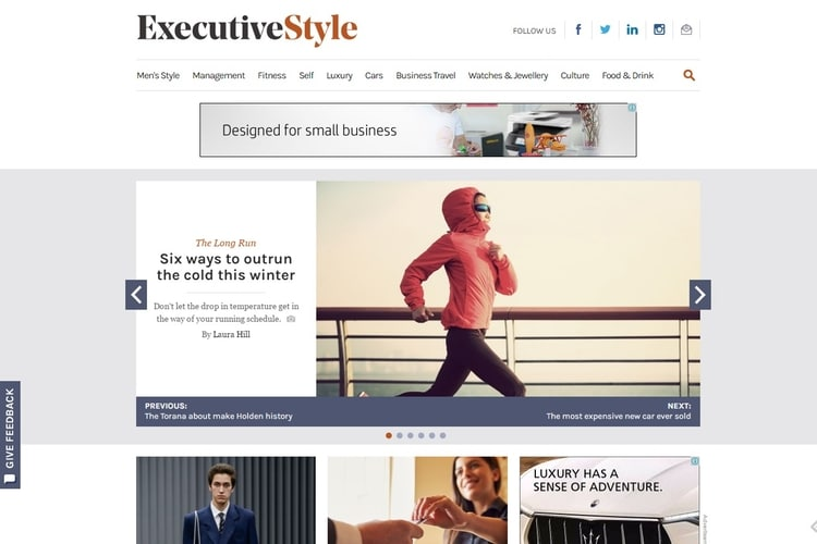 executive style mens fashion blogs