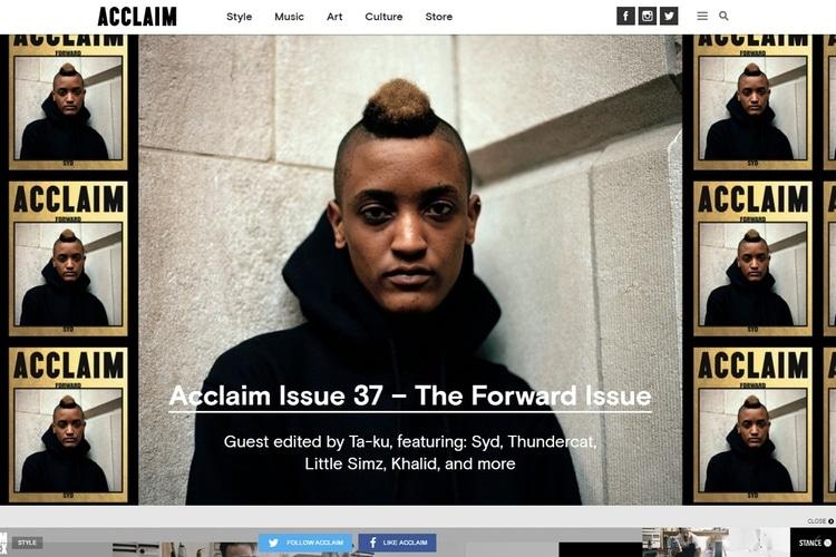 acclaim magazine