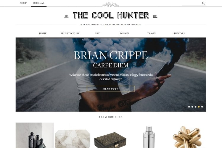 the cool hunter blog