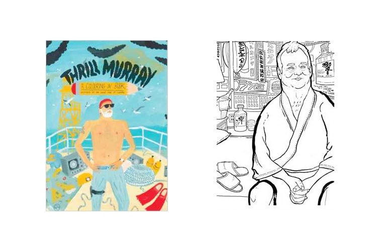 thrill murray colouring book - Thrill Murray Coloring Book
