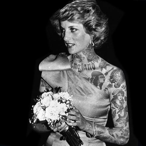 princess diana tattoo