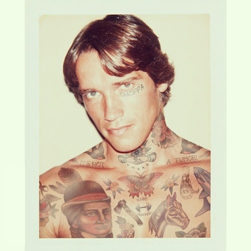 old celebrities with tattoos