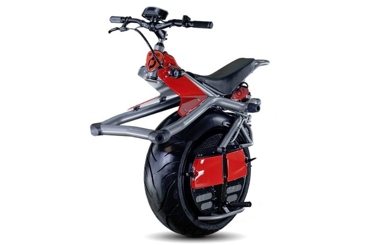 ryno one wheeled motorcycle launched