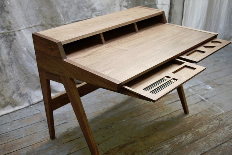 laura desk two angled drawers & 25 Best Desks for the Home Office | Man of Many
