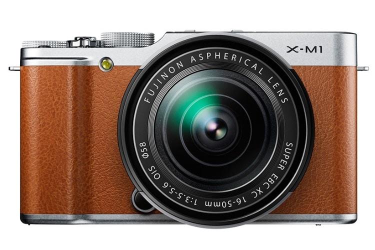 fuji x-m1 camera back side