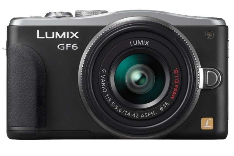panasonic dmc-gf6 black camera