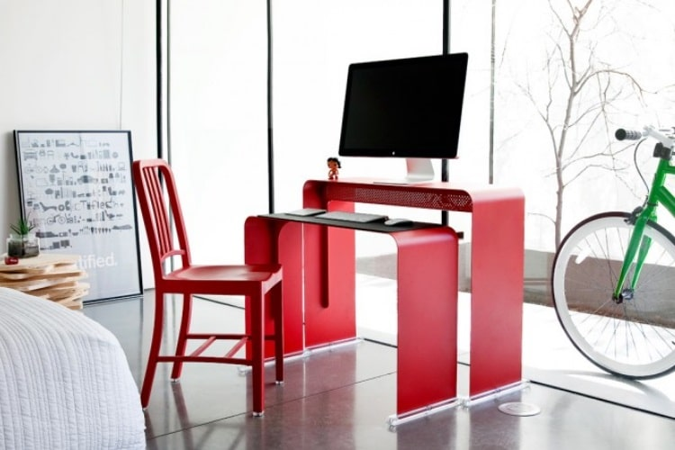 heckler design oneless desk