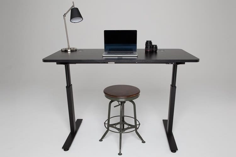 best office desks setup laptop on the standing desk 25 best desks for home office man of many