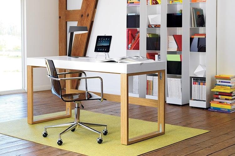 torino desk two legs