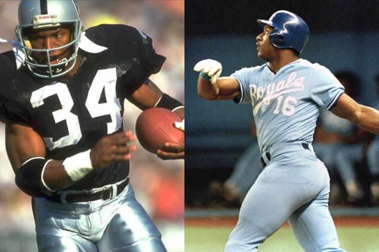 bo jackson football and baseball all star