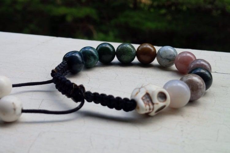 desirjewels lava colourful big beads
