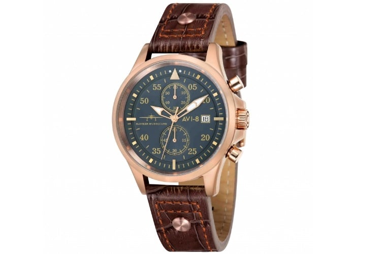 av 4013 06 hawker hurricane rose gold case