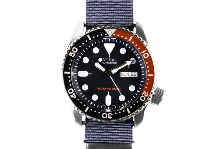 huckberry seiko dive watch