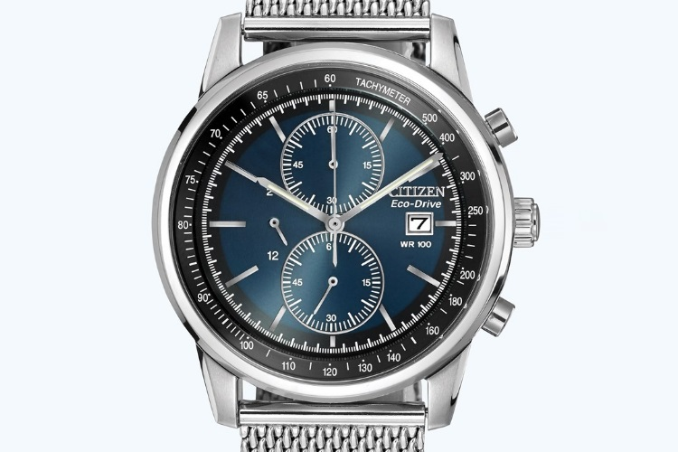 citizen ca0331 56l men eco drive chronograph
