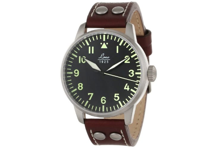 laco 1925 pilot classic analog watch