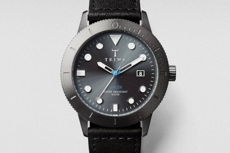 triwa walter hvalen steel case watch
