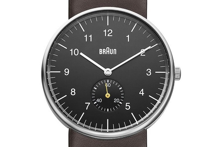 braun watch bn0024bkbrg watch