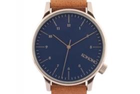 Komono Watch – Winston Blue Cognac