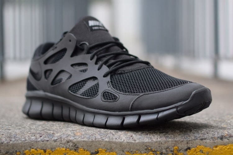 reputable site 1f50d 76439 Nike Free Run 2 Triple Black