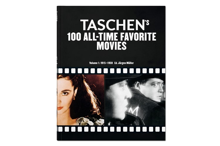 taschen 100 all time favorite movies