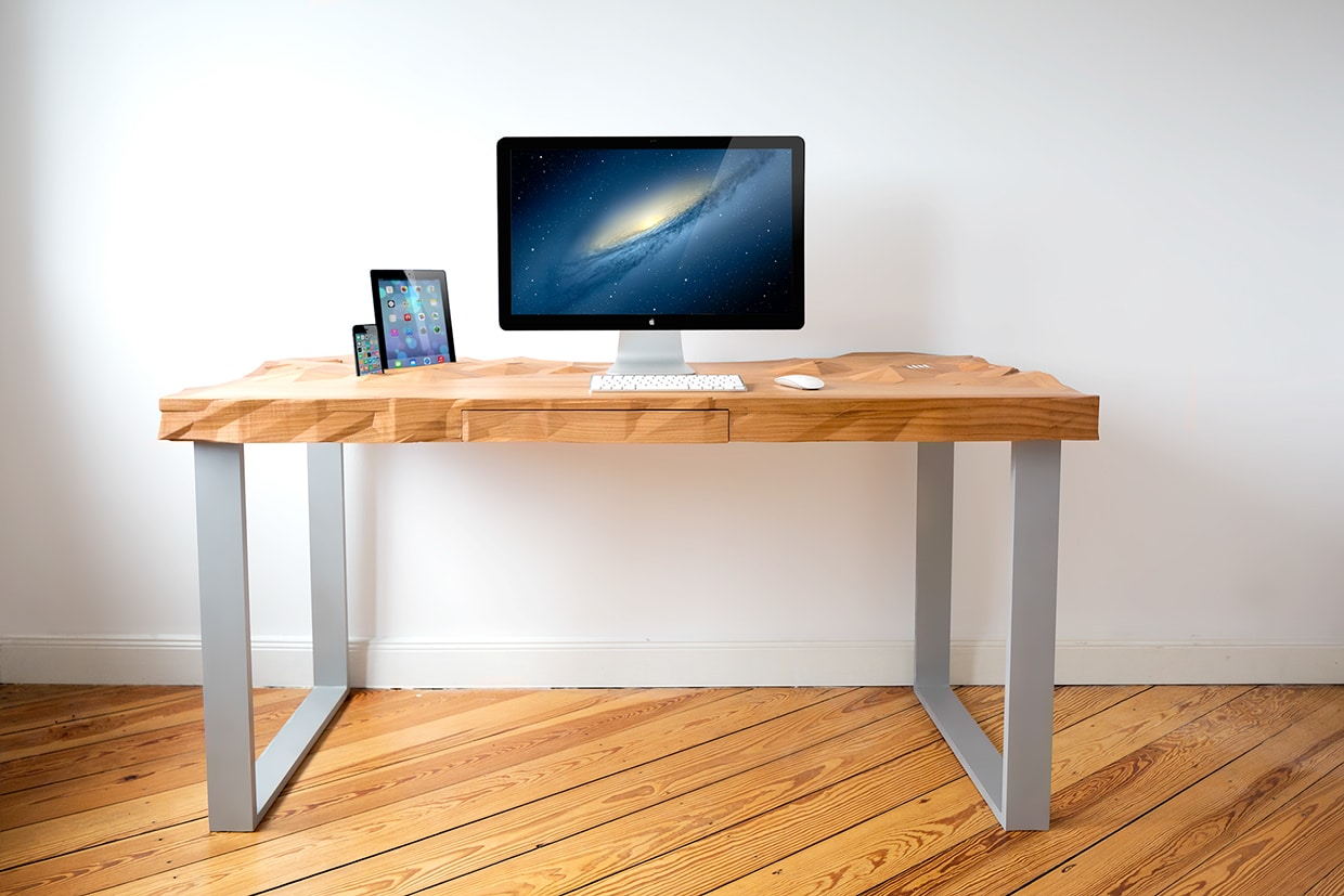 25 best desks for the home office man of many. Black Bedroom Furniture Sets. Home Design Ideas