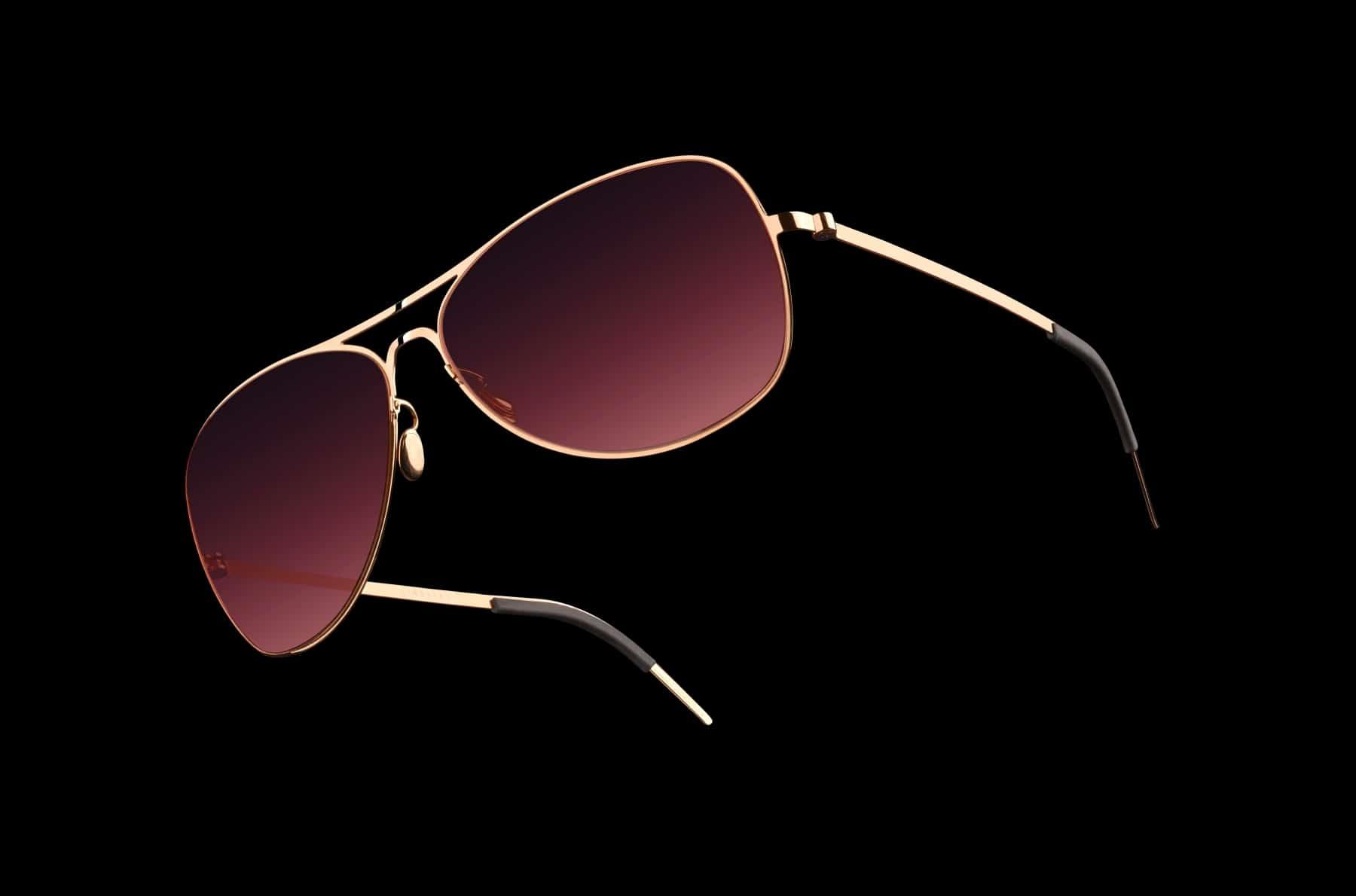 lindberg 5000 solid gold sunglasses nose pad