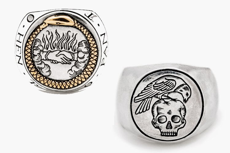 digby & iona signet rings